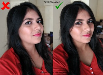 Tips & Tricks to Click the Perfect Makeup Selfie, Coolpad Note 5