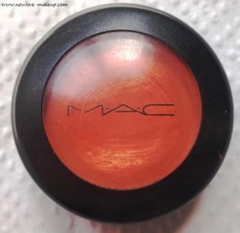 MAC Studio Finish Skin Corrector Pure Orange Review, Swatches