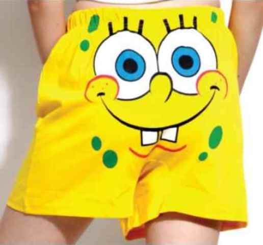 spongebob squarepants boxers