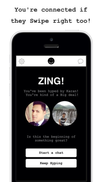 Left swipe dating app