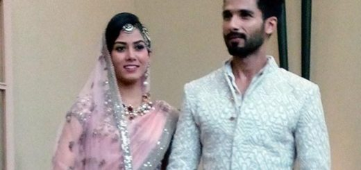 Shahid and Mira Kapoor after wedding