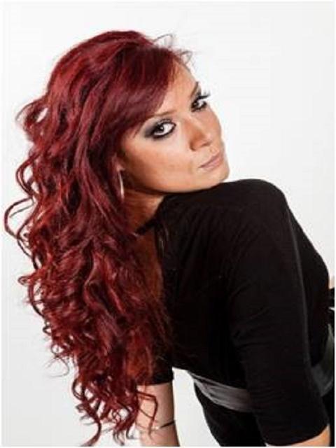 Hot red curls