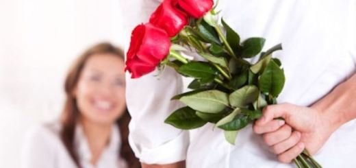 man giving flowers to a woman_New_Love_Times