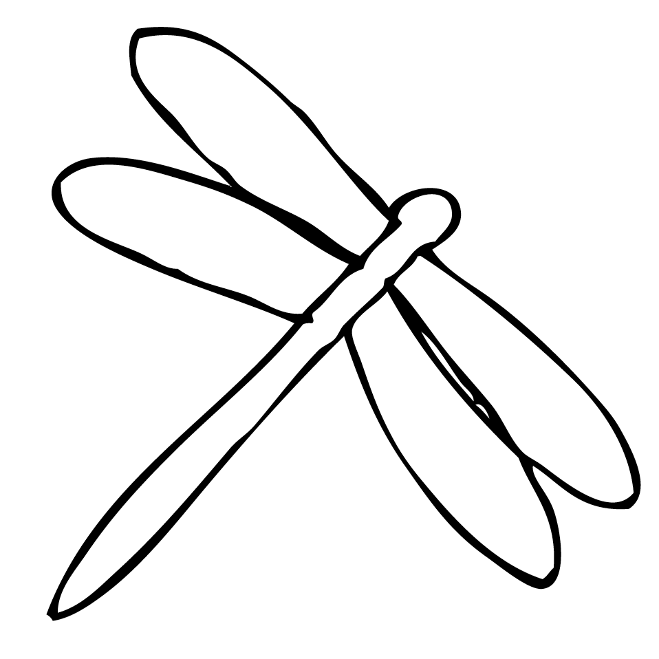 Coloring Pages Of Dragonflies Coloring Home