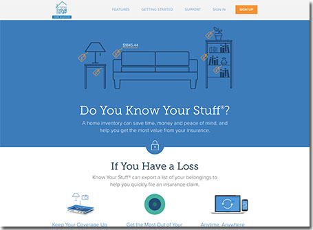 Know Your Stuff - Home Inventory Software -- 2016 New Media Awards