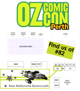 OCC Perth 2015 Booth Promo