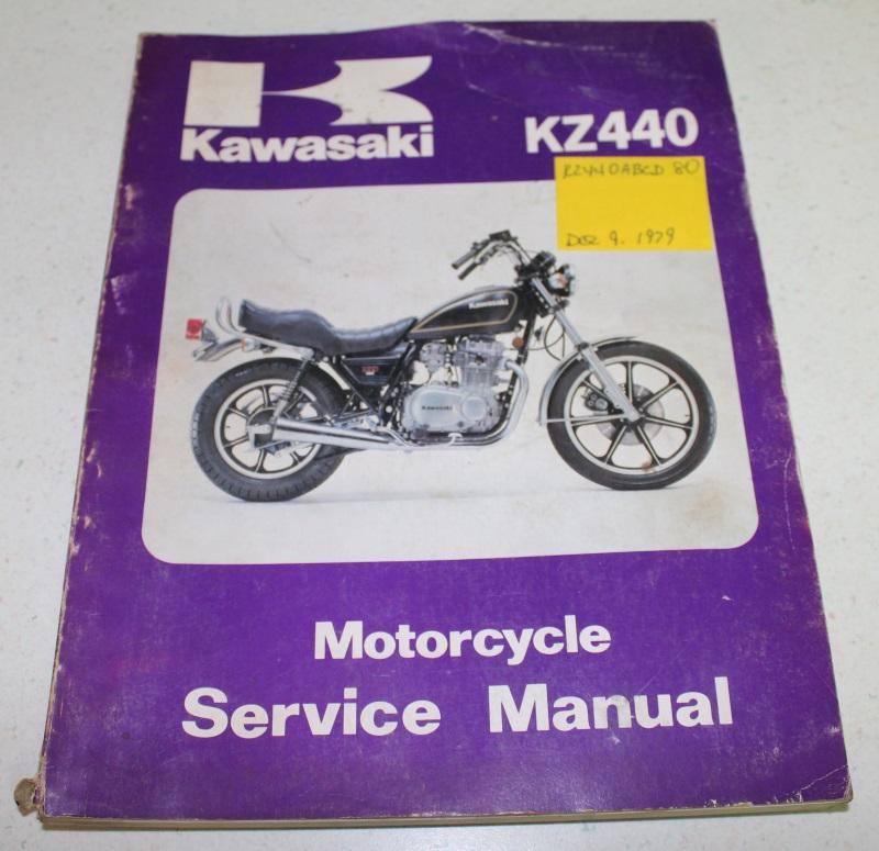kz440 manual