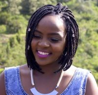 Black Box Braids Bob for African Women