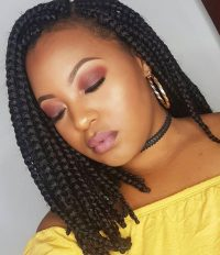 14 Dashing Box Braids Bob Hairstyles for Women | New ...