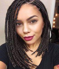 14 Dashing Box Braids Bob Hairstyles for Women | New ...
