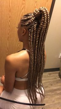 Attractive 8 Feed in Braids Ponytail for Women | Natural ...