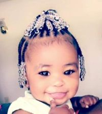 Baby Hairstyles With Beads - HairStyles