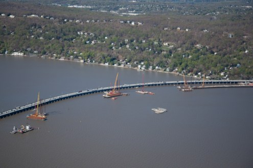 May 2014 - Aerial View of the Rockland Approach