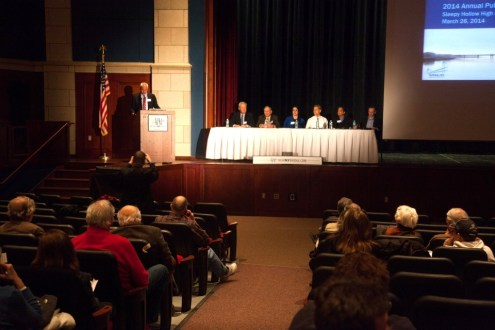 March 2014 - A panel of experts respond to questions from the public at the Westchester 2014 Annual Public Meeting