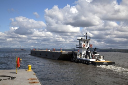 September 2013 - Typical Barge and Tug