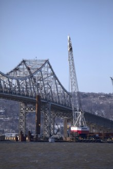 December 2013 - Permanent Pile Installation at Main Span