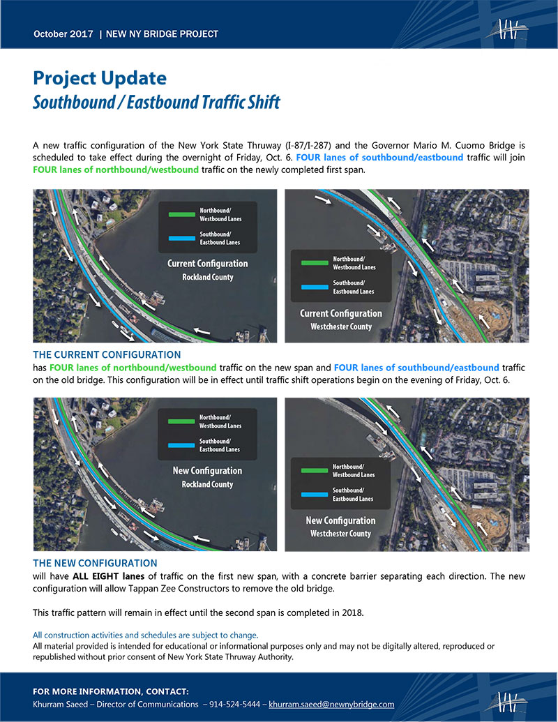 Traffic Shift Fact Sheet