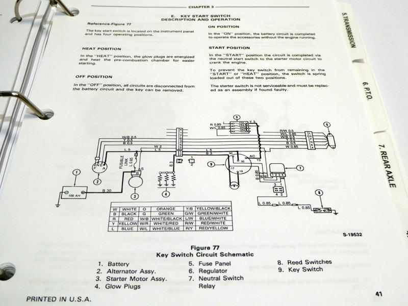 Ford 1010 Series 1910, 2110 Tractor Service Manual Repair Shop Book