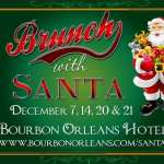 Brunch With Santa At The Bourbon Orleans Hotel {Sponsored Giveaway}