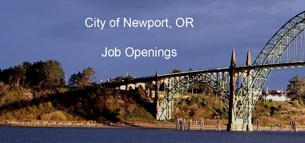 City of Newport, OR  Human Resources - city of sunrise jobs