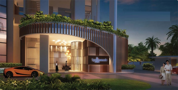 Spottiswoode Suites Entrance-Lobby