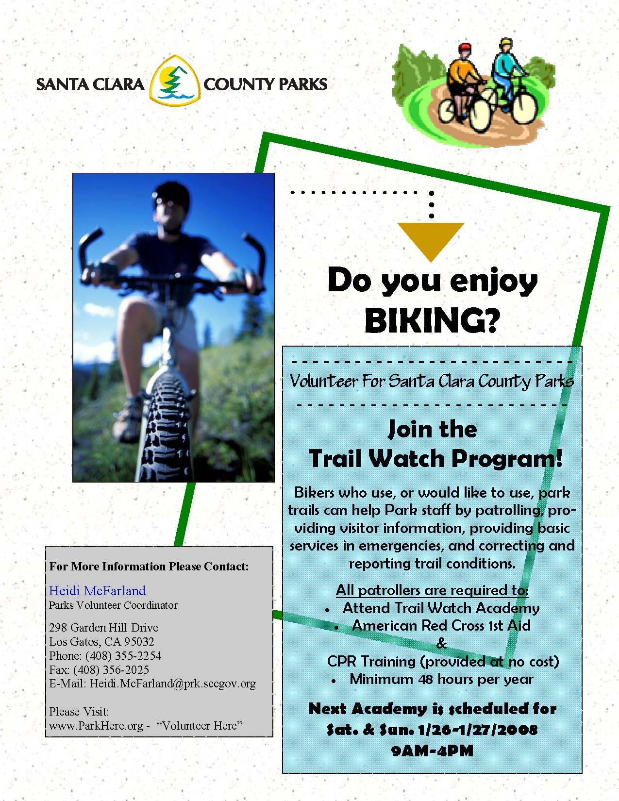 Trail Watch Bike Flyer