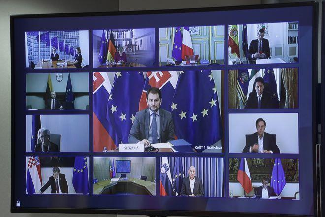 Τηλεδιάσκεψη του Ευρωπαϊκού Συμβουλίου