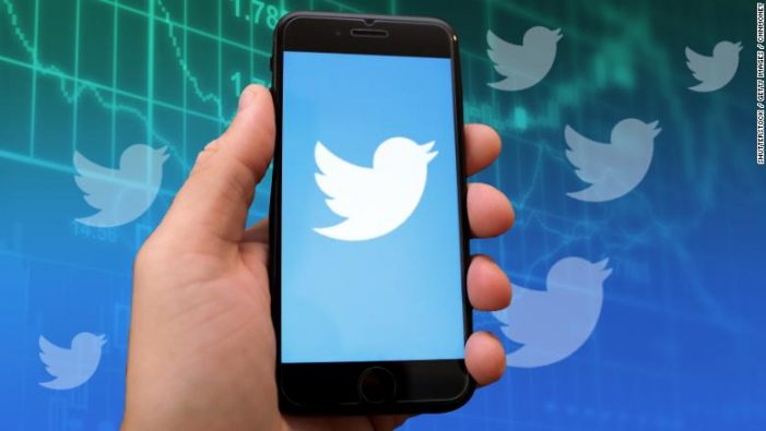 Twitter stock tumbles 15% after it purged fake accounts
