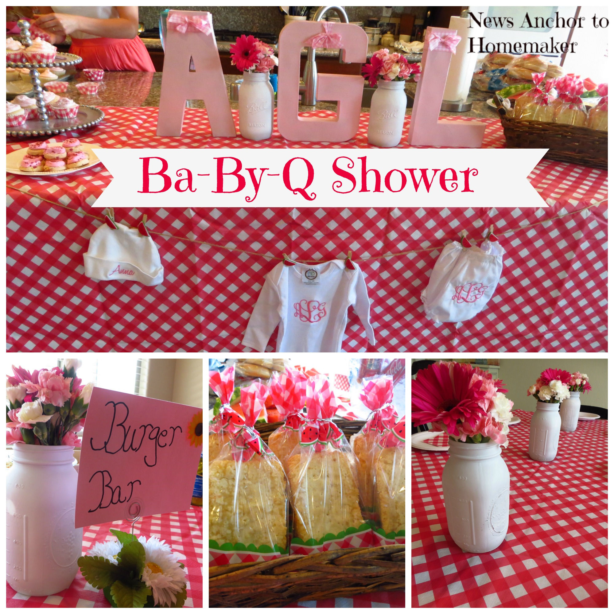Perfect Ba By Q Shower On Www.newsanchortohomemaker.com {bbq Baby Shower