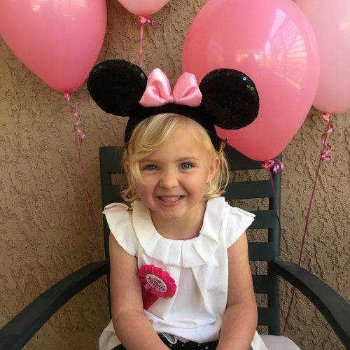 minnie mouse birthday party girl 3rd 3