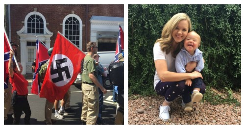 charlottesville demonstration nazi iceland abortion down syndrome