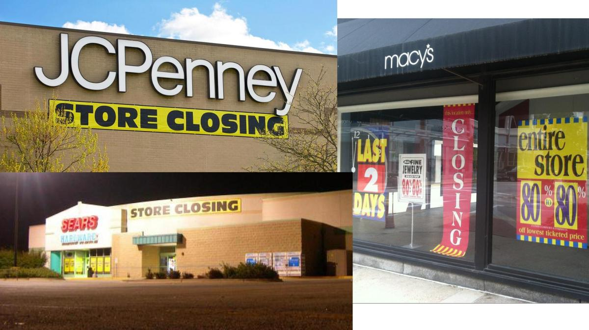 Going Out of Business: Sears, Kmart, Macy's and Staples