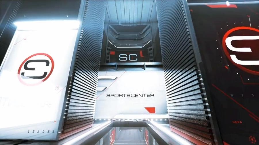Sportscenter Set Background