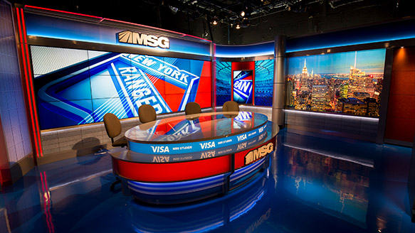 Live 3d Football Wallpapers Msg Network Adds Studio Newscaststudio