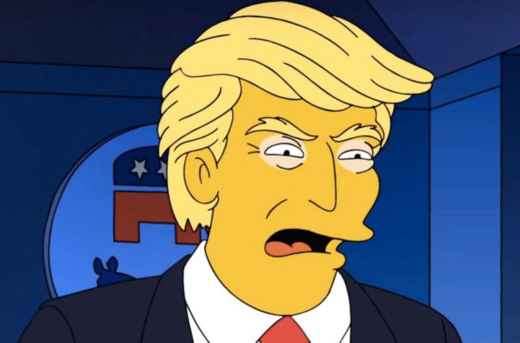 donald trump Simpson