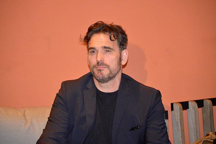 Matt Dillon a Roma per la stampa
