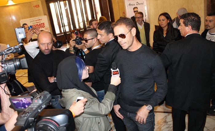 Rocco Siffredi in ospedale: incidente con una fan