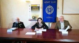Isernia: Il Rotary Club cittadino festeggia i 100° anni della Rotary Foundation con la fanfara dei Carabinieri reggimento Campania.