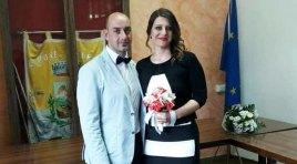 L'Angolo degli Auguri: festeggiamo quest'oggi gli sposi Diego Di Iorio e Raffaella Lancellotta.