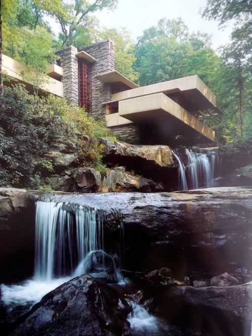 Falling Water House Wallpaper 24 Incredible Houses Built In The Most Unusual Places