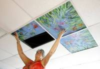 Ceiling art project gives Triangle cancer patients a ...