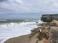 NC Outer Banks house falling into ocean because of ...