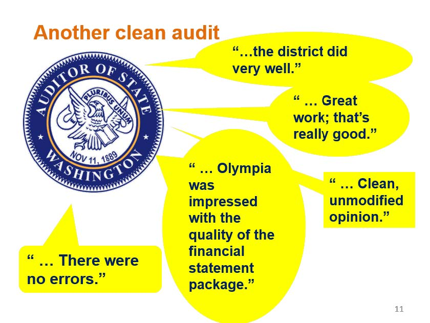 Once again, Everett Public Schools\u0027 state audit report indicates \u201cno