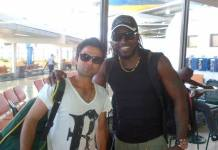 Chris Gayle and Ahmad Shehzad