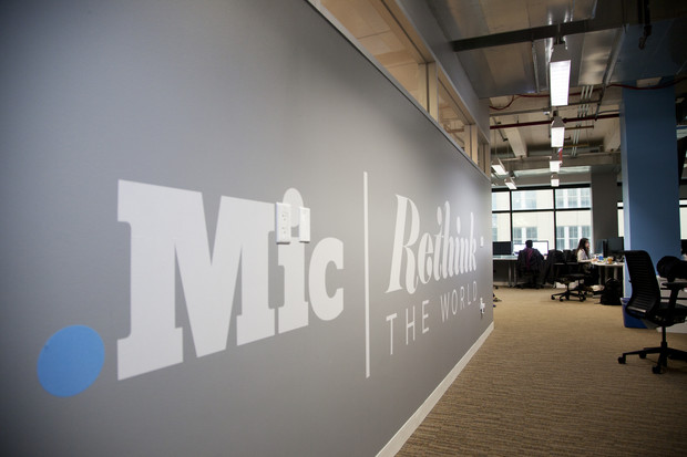 photos of Chris Altchek and the Mic.com offices for The Atlantic