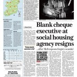 A RESIGNATION - The result of an investigation into social housing charity prompted by a disclosure from a whistleblower to the Irish Mail on Sunday.