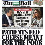 The Irish Mail on Sunday investigated Mercy Hospital Cork after a whistleblower indicated EU intervention cheese, supposed to be for charitable purposes, was being fed to private, fee-paying patients. RESULT: The hospital admits the misuse, informs the authorities and repays the money.