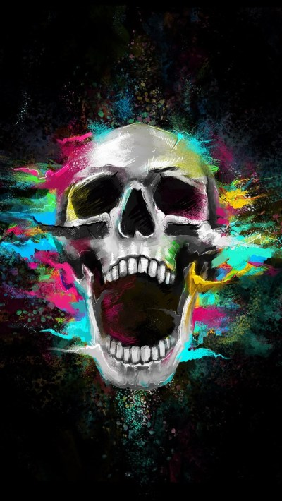 28 Skull iPhone Wallpaper To Darken Up Your Phone Screen | News Share