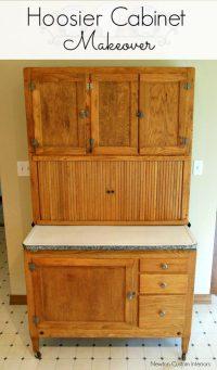 Hoosier Cabinet Makeover - Newton Custom Interiors