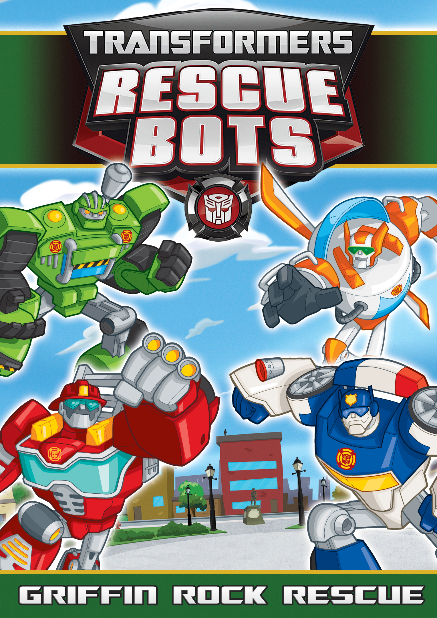 Transformers Animated Wallpaper Transformers Rescue Bots Griffin Rock Rescue Shout